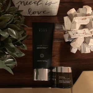 MONAT Back Cream Shave and Styling Clay Combo